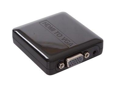 HDMI NAAR VGA ADAPTER + AUDIO (HQM111C)