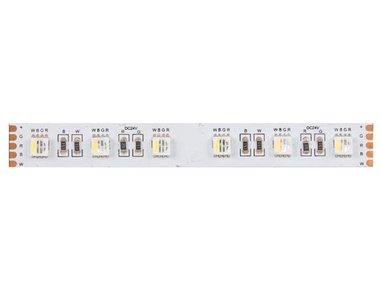 FLEXIBELE LEDSTRIP - 1 CHIP RGB EN WARMWIT 3500K - 60 LEDs/m - 40 m - 24 V (LQ24N830RGBWW40)