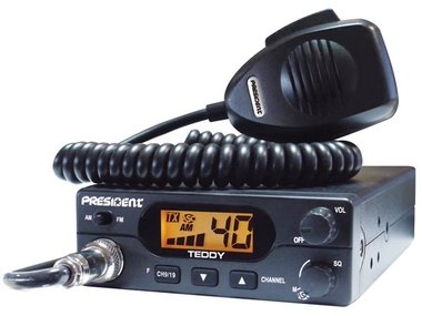 CB-RADIOSTATION (AM/FM) PRESIDENT® TEDDY (PRE005)