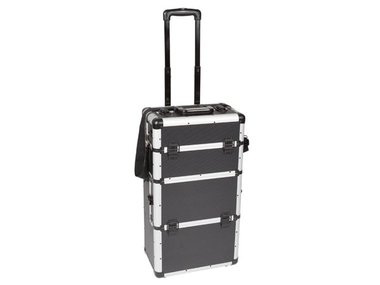 ALUMINIUM TROLLEY - 370 x 270 x 670 mm - ZWART (1827-CJ)