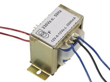 OPEN-CHASSIS TRANSFORMATOR 48VA 2 x 12V 2000mA (212048C)