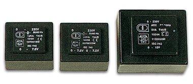 INGEGOTEN TRANSFORMATOR 8VA  2 x 15V / 2 x 0.250A (2150080M)