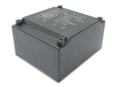 TRANSFORMATOR LAAG PROFIEL 18VA 2 x 18V / 2 x 0.500A (2180180MLP)
