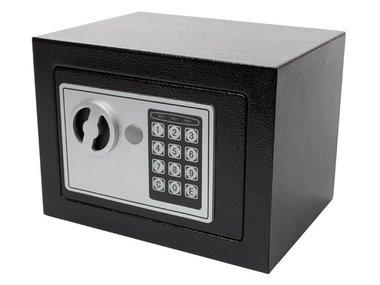 ELEKTRONISCHE KLUIS - 17 x 23 x 17 cm - ZWART (BG90014)