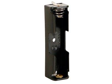 BATTERIJHOUDER VOOR 1 x AA-CEL (MET SOLDEERLIPPEN) (BH311D)
