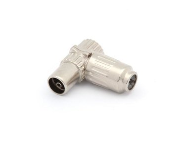 HAAKSE TV-PLUG 9.5mm/2.3mm - VROUWELIJK - METAAL (CV002M)