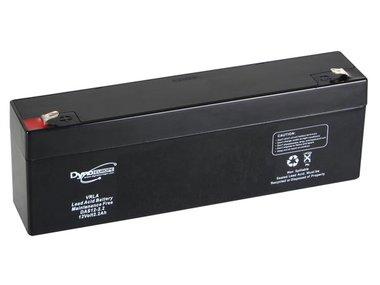 LOOD-ZUUR-ACCU  12 V - 2.2 Ah 177.5 x 34 x 66 mm (DAS12-2.2)