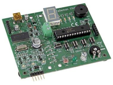 USB PIC PROGRAMMER EN LEERMODULE (EDU10)
