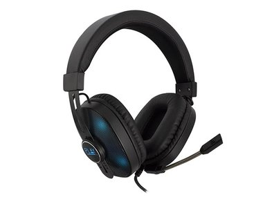 EWENT - OVER-EAR GAMING HEADSET MET MICROFOON EN RGB-LEDS (EM3321)