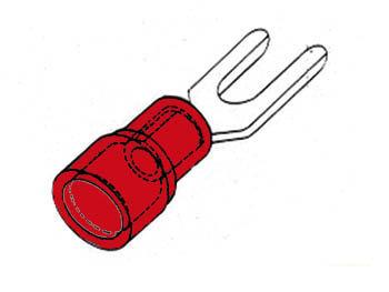 RODE KABELSCHOEN 4.3mm (FRY4)