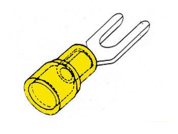 GELE KABELSCHOEN 5.3mm (FYY5)
