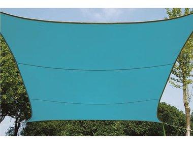 ZONNEZEIL - VIERKANT - 5 x 5 m - KLEUR: HEMELSBLAUW (GSS4500BL)