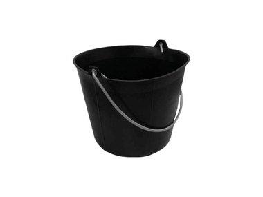 TALIAPLAST - BOUWEMMER - 11 L - PLASTIC - ZWART (HED100011)
