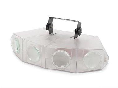 QUAD LED MOONFLOWER - TRANSPARANTE BEHUIZING (HQLE10030)