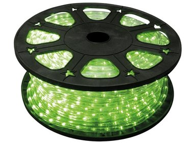 LED-LICHTSLANG - 45 m - GROEN (HQRL45004)