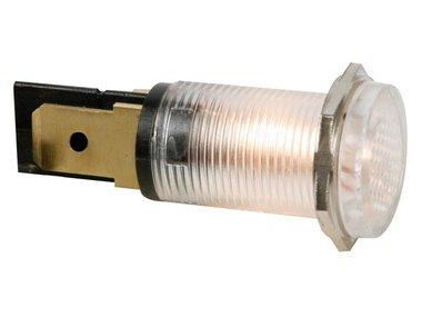 RONDE SIGNAALLAMP 14mm 220V HELDER (HRJC220C)