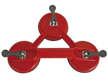 DRIEDUBBELE ZUIGNAP - max. 100 kg (HSC3)