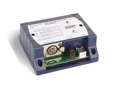 DMX-CONTROLLER VIA USB (K8062)