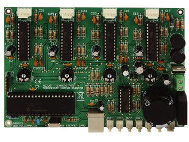 4-KANAALS STAPPENMOTORKAART MET USB-INTERFACE (K8097)