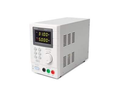 PROGRAMMEERBARE LABOVOEDING 0-30 VDC / 5 A max. - DUBBELE LED-DISPLAY met USB 2.0-INTERFACE (LABPS3005DN)