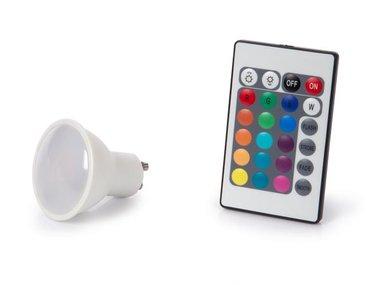 LEDLAMP - 4 W - GU10 - RGB & WARMWIT (LAL3C5J)