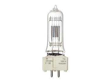 HALOGEN LAMP TUNGSRAM 1000W / 230-240V,  BI-PLANE (GE 88457) (LAMP1000T/GE)