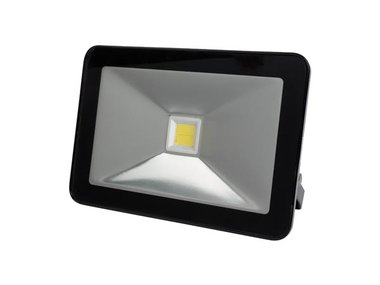 DESIGN LED-SCHIJNWERPER - 30 W, NEUTRAALWIT - ZWART (LEDA5003NW-B)