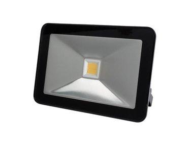 DESIGN LED-SCHIJNWERPER - 30 W, WARMWIT - ZWART (LEDA5003WW-B)