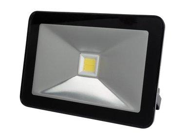 DESIGN LED-SCHIJNWERPER - 50 W, NEUTRAALWIT - ZWART (LEDA5005NW-B)