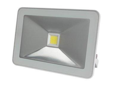 DESIGN LED-SCHIJNWERPER - 50 W, NEUTRAALWIT - WIT (LEDA5005NW-W)