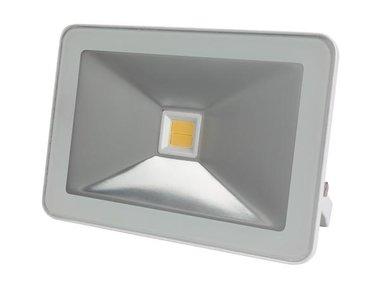 DESIGN LED-SCHIJNWERPER - 50 W, WARMWIT - WIT (LEDA5005WW-W)