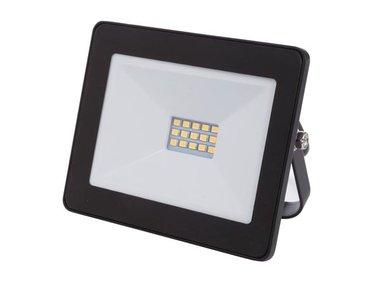 LED-SCHIJNWERPER VOOR BUITENSHUIS - 10 W, NEUTRAALWIT - ZWART (LEDA6001NW-B)