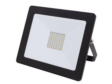 LED-SCHIJNWERPER VOOR BUITENSHUIS - 30 W, NEUTRAALWIT - ZWART (LEDA6003NW-B)