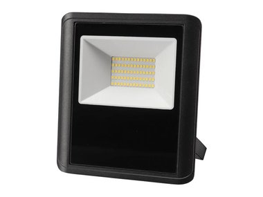 LED-SCHIJNWERPER VOOR BUITENSHUIS - 50 W, NEUTRAALWIT - ZWART (LEDA7005NW-B)