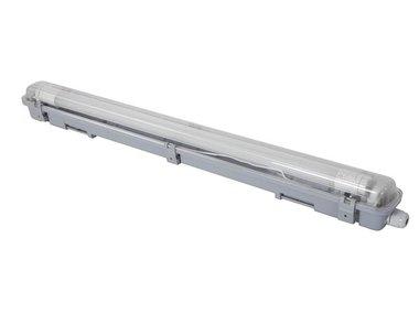 PLAFONDLAMP MET T8-LEDLAMP - WATERDICHT - BUIS - 65.5 cm - NEUTRAALWIT (LEDA97NW)