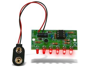 MINI CHASEREFFECT MET 6 LEDS (MK173)