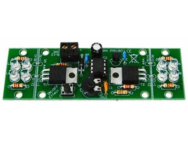 2-KANAALS HI-POWER LEDFLITSER (MK180)