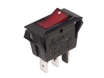 VERMOGEN ROCKERSCHAKELAAR 10A-250V SPDT ON-ON (R902B)