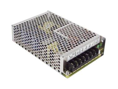 SCHAKELENDE VOEDING - 1 UITGANG - 100 W - 5 V - GESLOTEN FRAME - ENKEL VOOR PROFESSIONEEL GEBRUIK (RS-100-5)