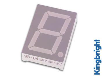1-DIGIT DISPLAY 45mm GEMEENSCHAPPELIJKE ANODE SUPERROOD (SA18-11EWA)