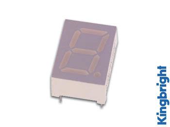 1-DIGIT DISPLAY 10mm GEMEENSCHAPPELIJKE ANODE HYPERROOD (SA39-11SRWA)
