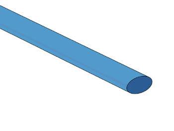 THERMISCHE KRIMPKOUS 6.4mm - BLAUW - 50 ST. (STB64B)