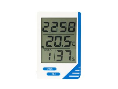 DIGITALE THERMOMETER & HYGROMETER (TA21)