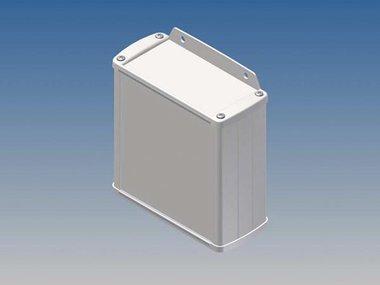ALUMINIUM BEHUIZING - WIT - 110 x 105.9 x 45.8 mm - met flens (TK31-E.7)