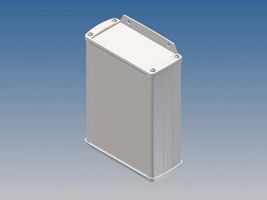 ALUMINIUM BEHUIZING - WIT - 145 x 105.9 x 45.8 mm - met flens (TK32-E.7)