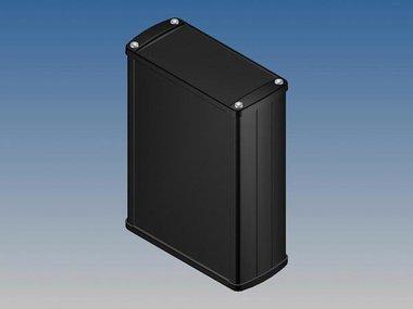 ALUMINIUM BEHUIZING - ZWART - 145 x 105.9 x 45.8 mm (TK32.9)