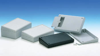 TENCLOS SLOPE ENCLOSURE - BLACK - 145 x 85 x 31.5 mm (TK550SPB)