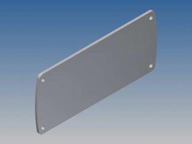 ALUMINIUM PANEEL VOOR TEKAM 3 - ZILVER - 105.77 x 45.8 x 2 mm (TKALLP3.1)