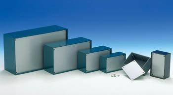 PLASTIC OPTATIVE BEHUIZING - PETROLEUMBLAUW 160 x 96 x 61mm (TKP3B)