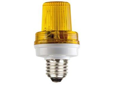 MINI FLITSLAMP - E27 - 5 W - GEEL (VDLSLY)